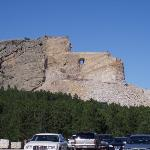 Crazy Horse just isn't that impressive when you see Mt. Rushmore 1st