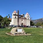 Old Mission Santa Barbara ภาพถ่าย