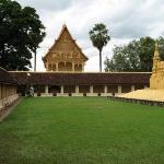Inside the walls of That Luang