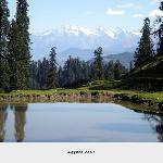 Agyaat Vaas:Backdrop Great Himalayas