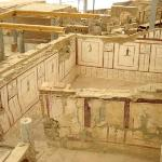 The Ephesus terrace houses that are currently being uncovered.  The excavation of the old city i