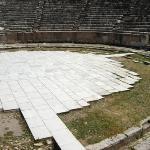 "The beautiful Colosseum where Paul spoke.  ""IN Ephesus"""