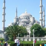 The Blue Mosque from the hotel