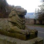 The Lion of the lion's gate bridge