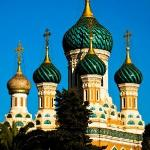 Russisch Orthodoxe Kathedrale Foto