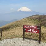 駒ヶ岳からの富士山