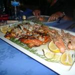 Seafood on the island