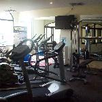 Fitness centre.
