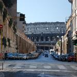 Roma con il Colosseo - a due passi dall'albergo Grifo