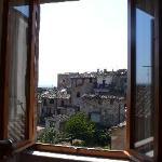 Livingroom window view