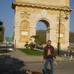 Arco del triunfo (Montpellier)