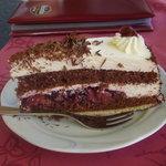 Café Platzer, Kevelaer, Schwarzwälder Kirschtorte (Black Forest Gateau)