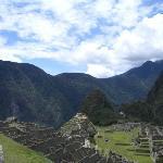 Macchu Picchu in Peru One of the 7 wonders of the world