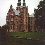Rosenborg Castle in Copenhagen, Denmark. 2000.