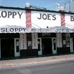 Sloppy Joe's on Duval Street in Key West.