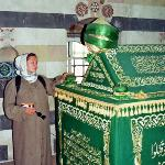 ehrfürchtig am saladin-Grab
