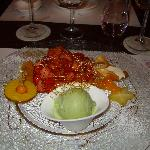 The spectacular dessert