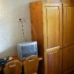 l'armadio e la Tv