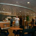 The wonderful Buffet in the stena plus lounge (Stena Adventura)