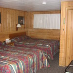 Our room at the Lazy G