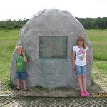 Wright brothers monument.