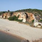 der Praia Grande, direkt vom Hotel zu erreichen über eine Treppe