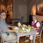 Breakfast in the Art Gallery