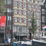 The Hotel from the River Amstel