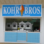 Entrance to Kohr Bros Rehoboth Beach