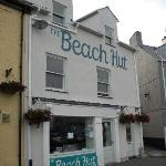 The front of the Beach Hut