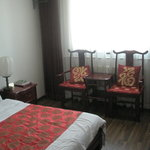Guest room at Xinyuan Inn