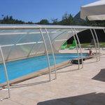 l'agréable piscine
