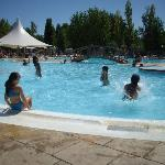 une journée à la piscine avec les enfants
