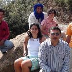 Los miembros de la expedición