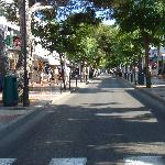 Cala D'or main shopping street