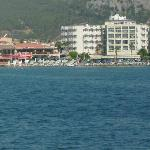 view of beautiful marmaris from our boat trip