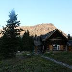 Skoki Lodge in the morning