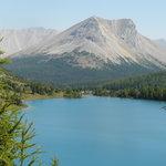 Lower Skoki Lake & Skoki Mtn