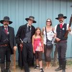 Virgil, Morgan, Amy, Me, and Wyatt Earp!!!