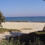 scorcio della spiaggia