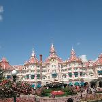 Campanile hotel, is verry close to Disneyland