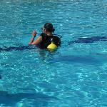 Scuba in the pool