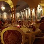 the amazing resturant  Aqaurius at Hotel alcymist Grand hotel and spa