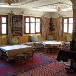 the restaurant/ living room