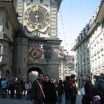 Zytglogge, an elaborate medieval clock tower with moving puppets.