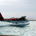 Arrival by sea plane