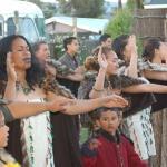 Māori Greeting, Tamaki Villiage, Ferrymead