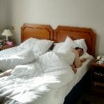 Comfy bed!