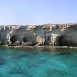 sea caves by Ayia Napa