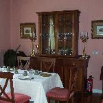 Posada Casa de Valle - Detalle del comedor